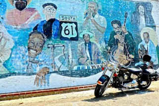 Blues Mural, Leland