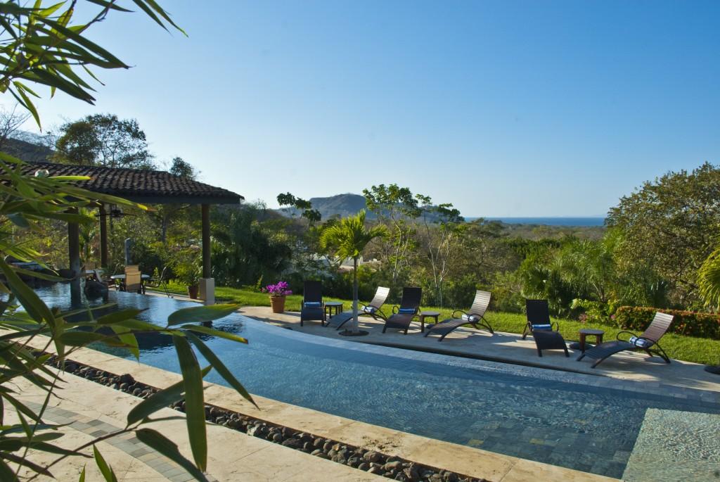 Specatual Views from the Pool at Villa Buena Onda. Photo Courtesy of Villa Buena Onda.