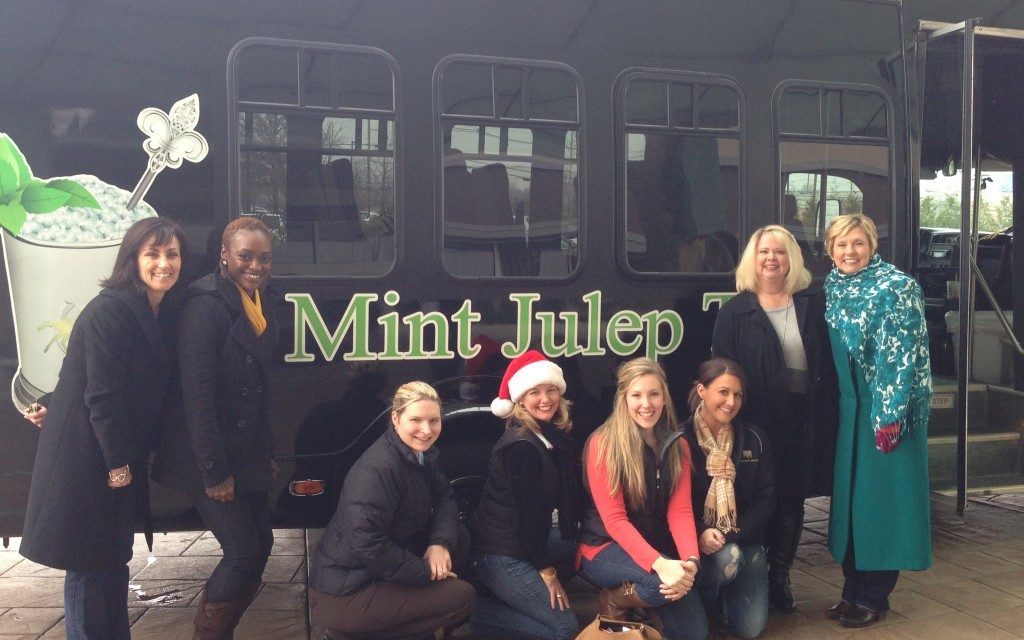 Sean and Lisa Higgins, Mint Julep Tours