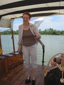 2013 Shebby at helm
