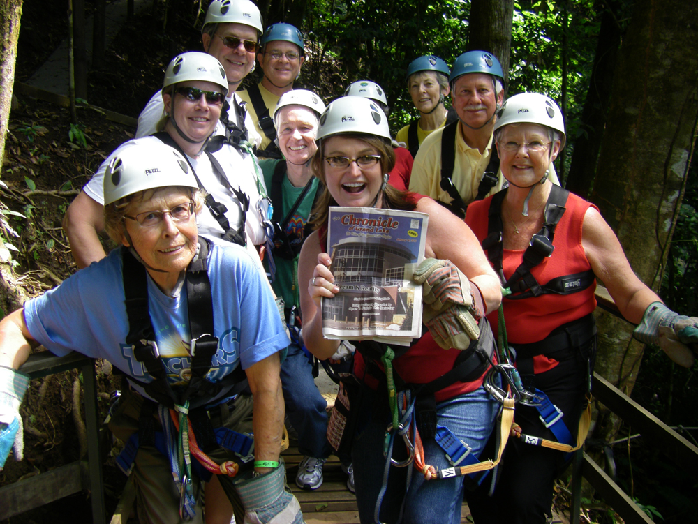 Good to Go group enjoys Costa Rica while showing off Patti Beth's marketing