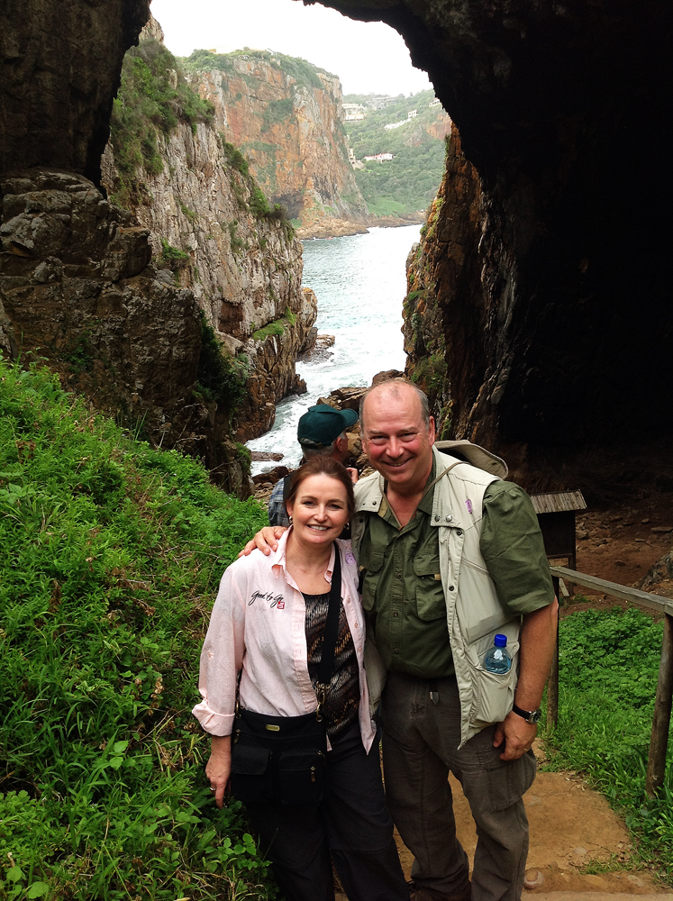 Along with husband Doug, Patti Beth leads a group in South Africa