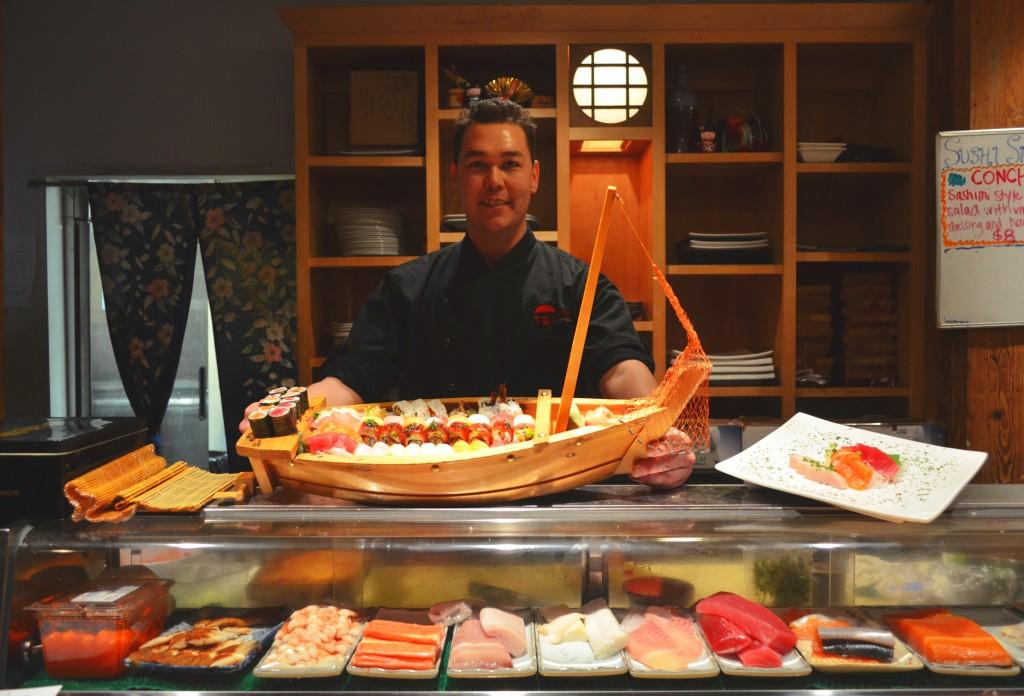 Kobe Sushi. Credit: Mike Ritchie