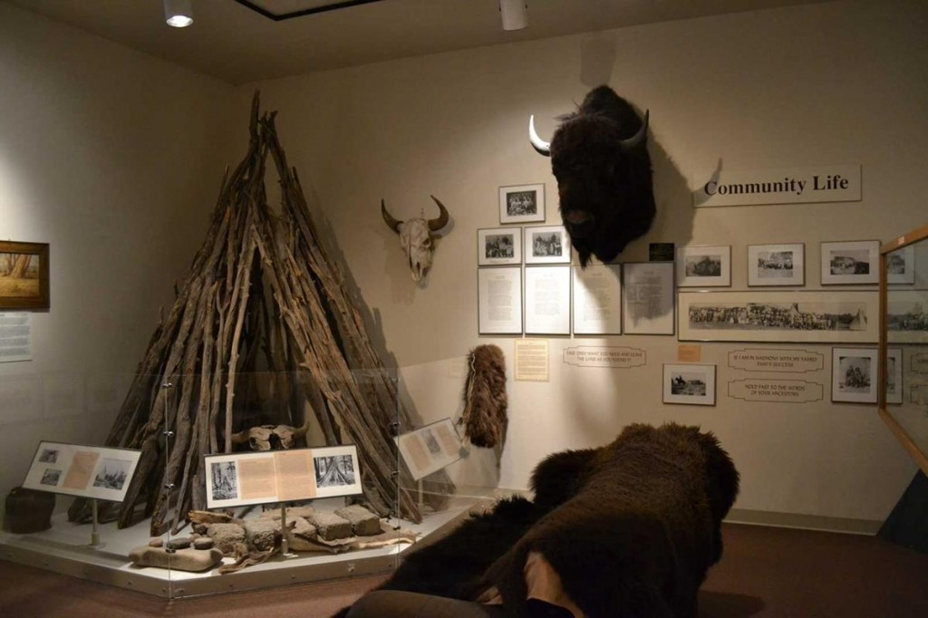 3.The Ute Indian Museum outside Montrose