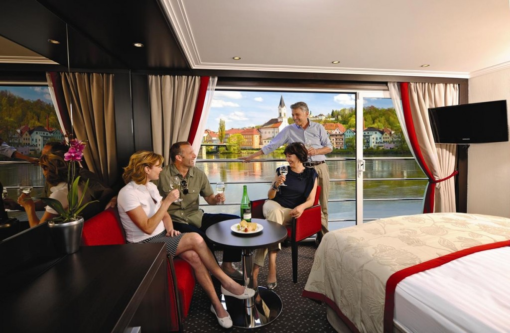 Avalon Waterways' Panorama Suite
