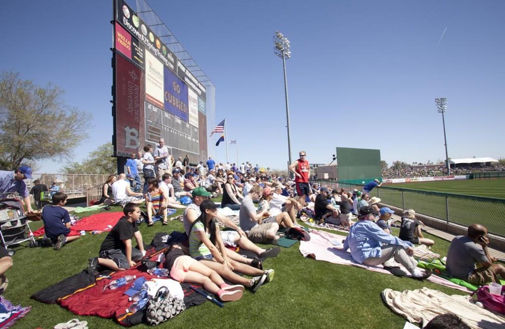 Cubs Park Spectators