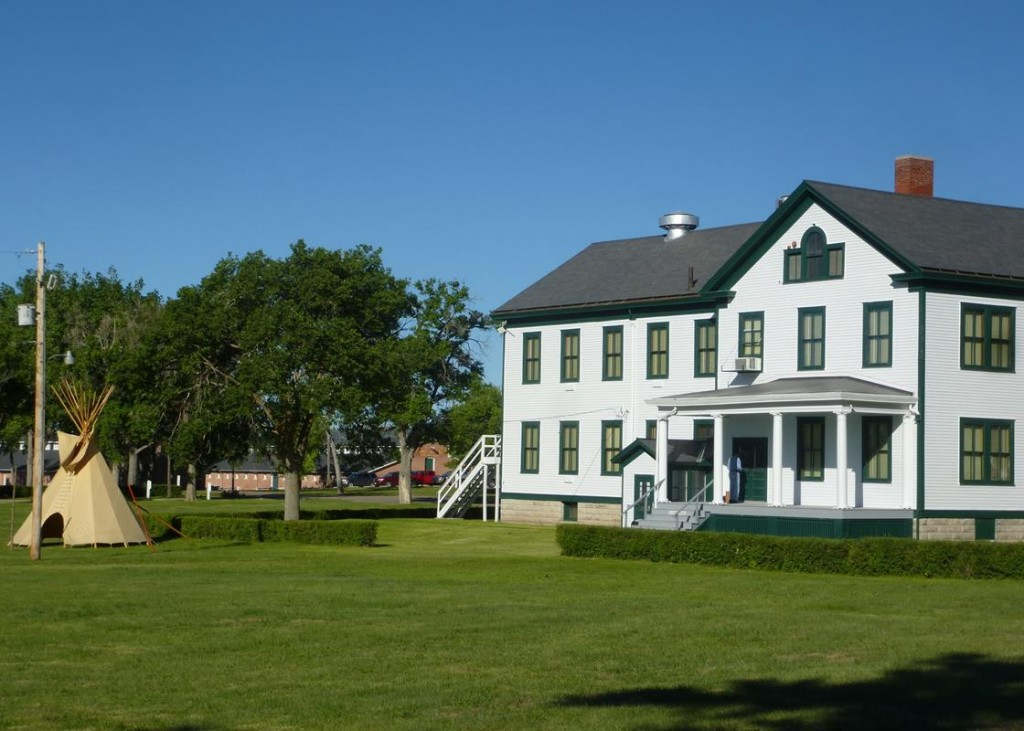The Grounds of Fort Robinson