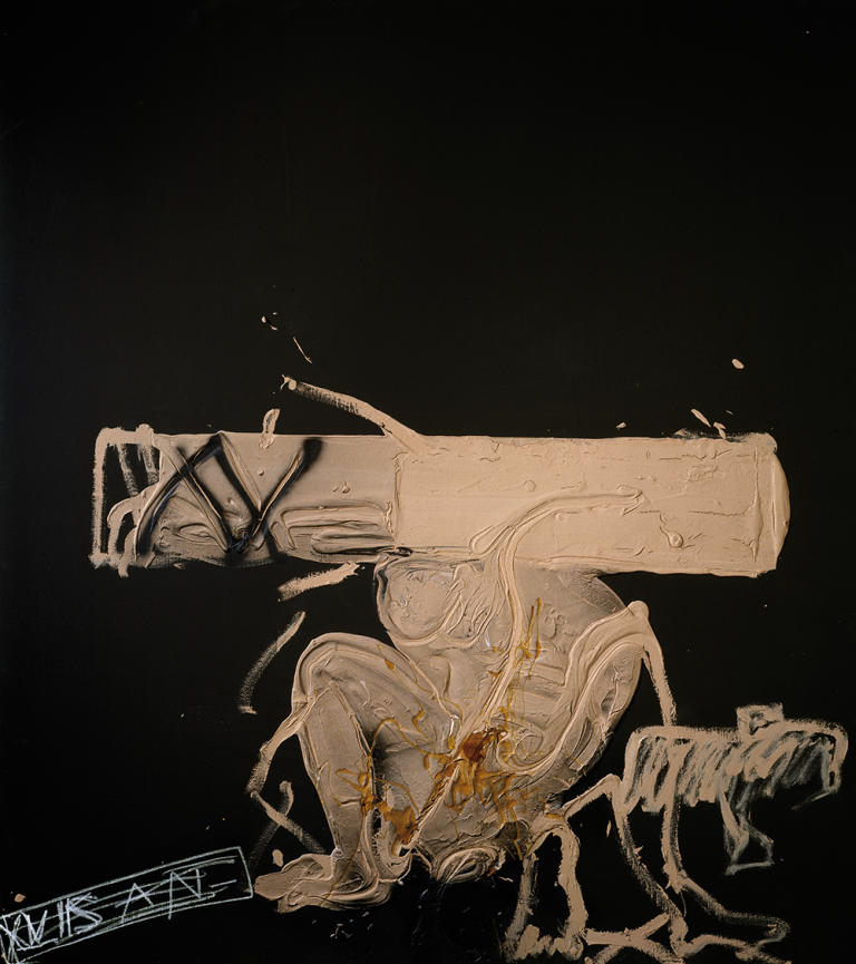 Antoni-Tápies,--Matèria-rosada-(Pink-Material),-1991