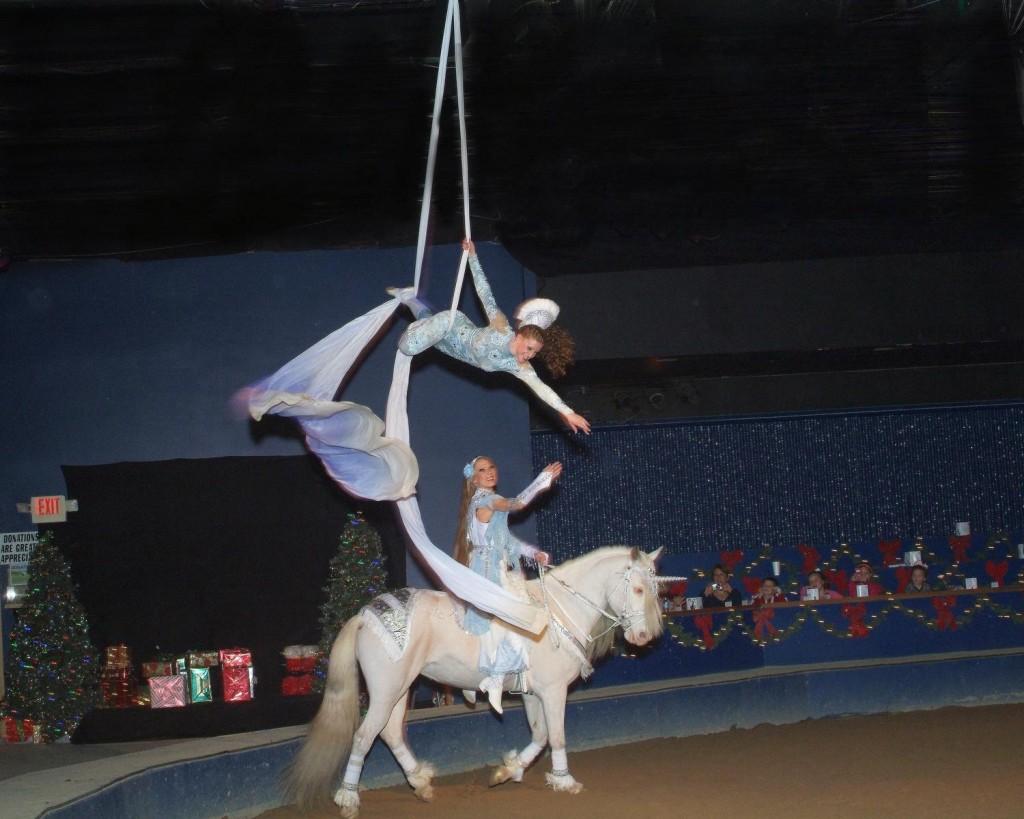 The Dancing Horses Theatre in Delavan stages equestrian extravaganzas