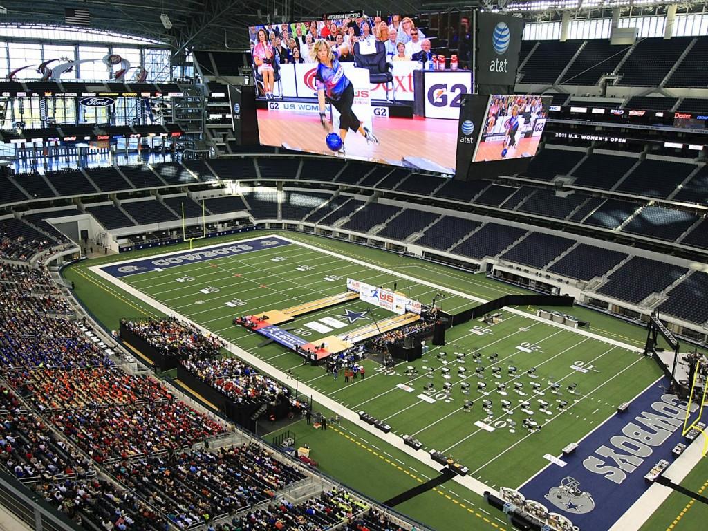 Inside Cowboys Bowling Championships credit Arlington CVB
