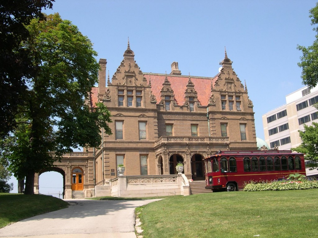 Soak in the splendor of Pabst Mansion, home of the Milwaukee beer baron.