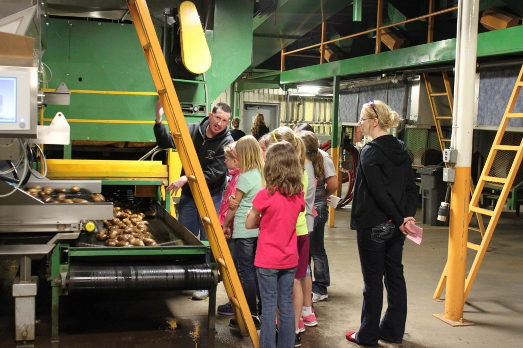 Tours of the RPE packing plant shed light on the region's potato industry.
