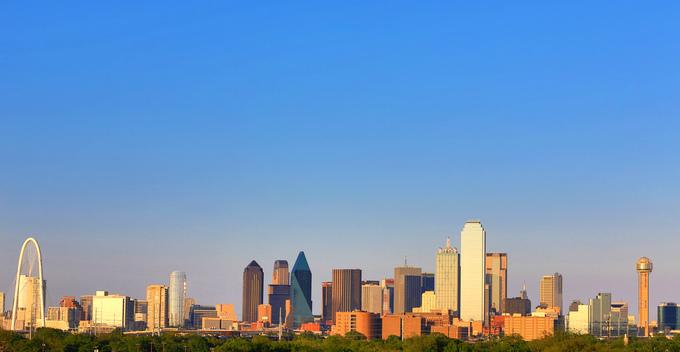 Downtown Dallas. Credit DCVB