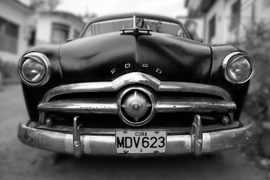 An American in Cuba in Black and White. © RalphVelasco.com