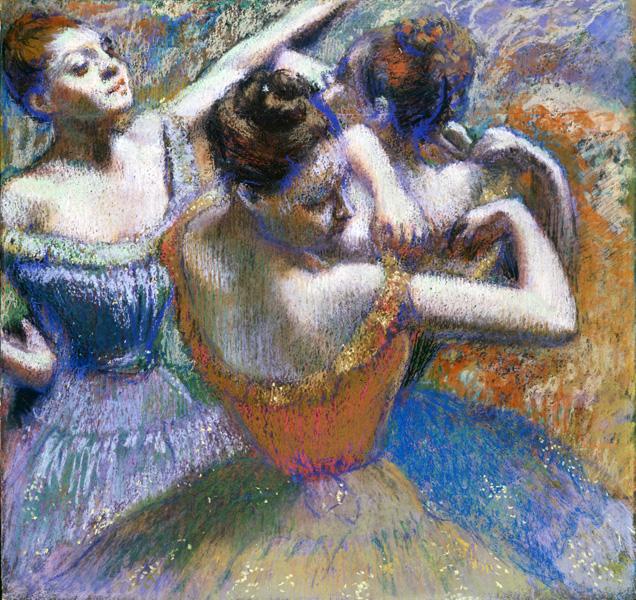Edgar Degas. The-Dancers. Credit: Toledo Museum of Art