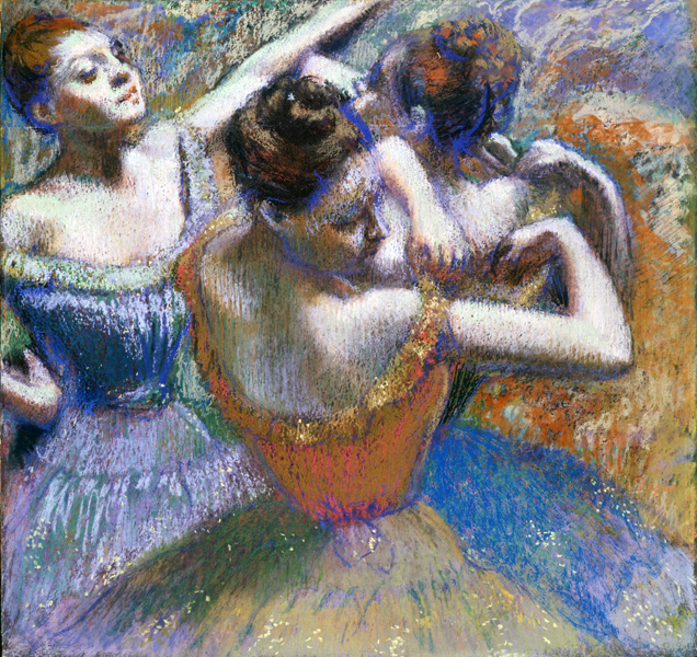 Edgar Degas. The-Dancers. Credit: Toledo Museum of Art