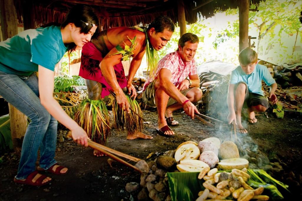 Samoa Umu Cooking