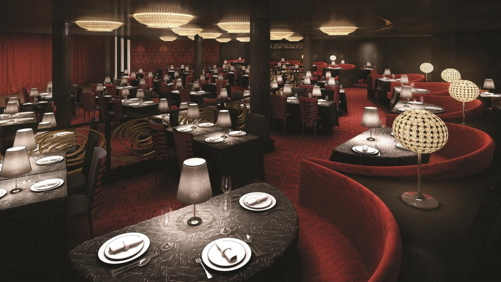 the Supper Club. Photo courtesy of Norwegian Cruise Line