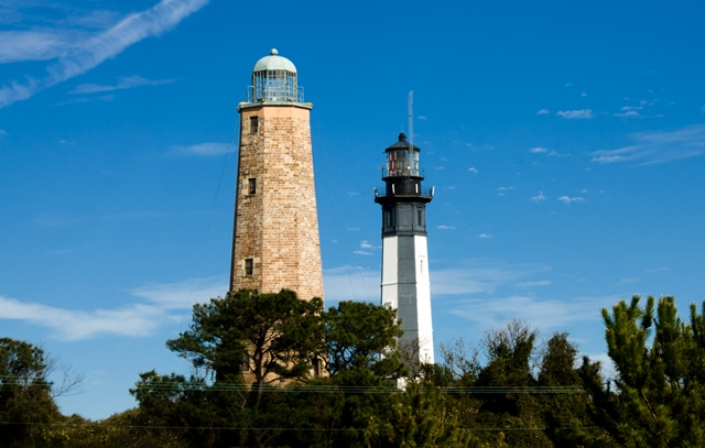 Old and New Cape Henery Lighthouses