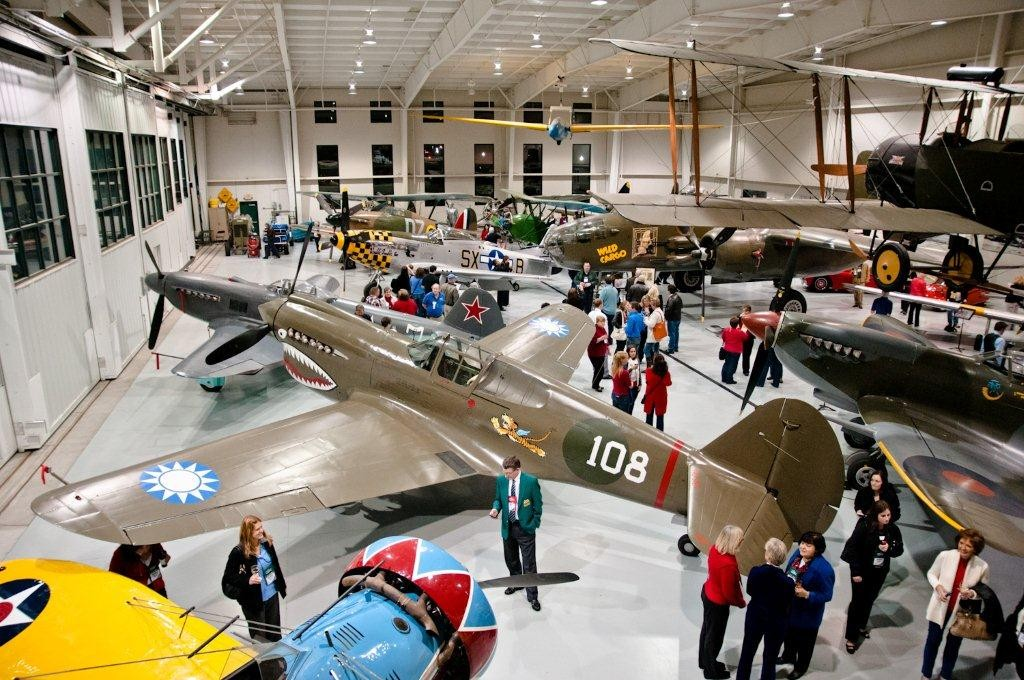 Military Aviation Museum in Pungo. Credit: Virginia Beach CVB