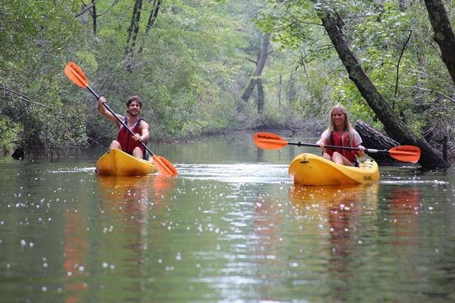Back Bay kayaking. Credit: Virginia Beach CVB