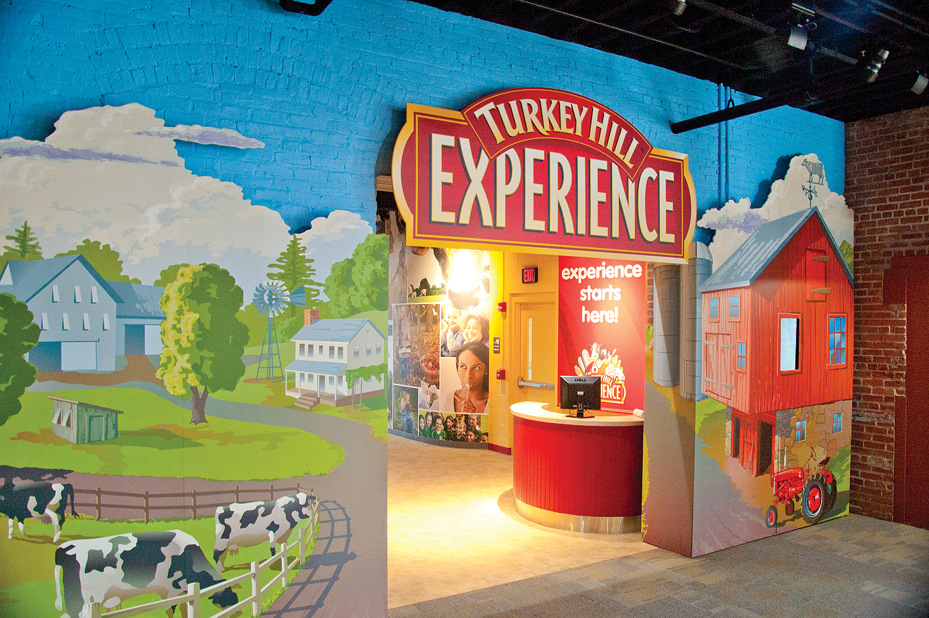 Experience Center. Turkey Hill Experience
