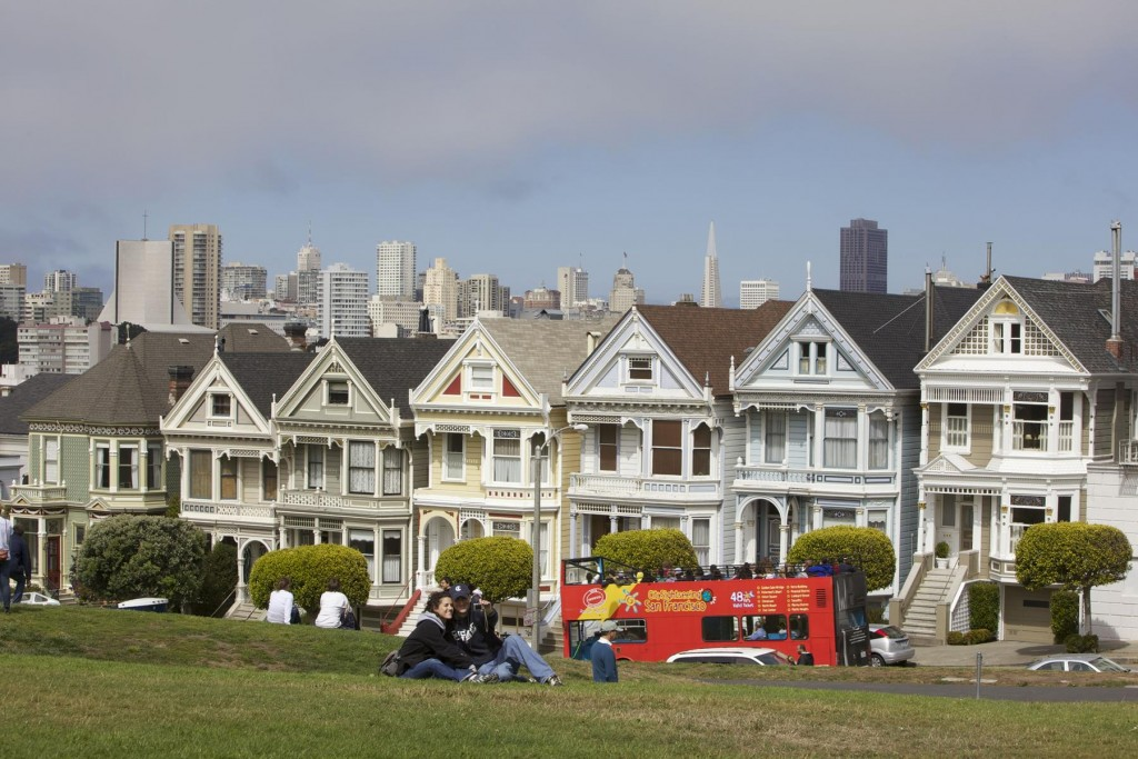 Alamo Square Neighborhood, San Francisco