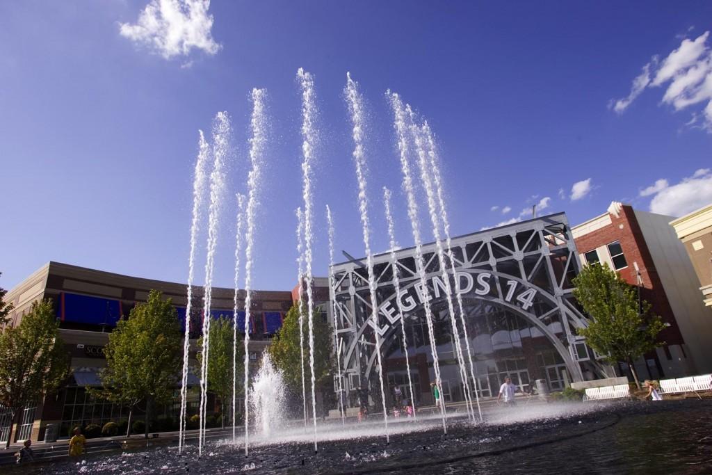 Legends Fountain