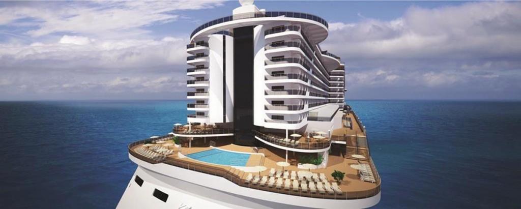 MSC Seaside- Aft View