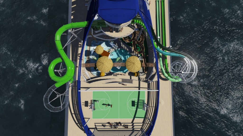 MSC Seaside Aqua Park