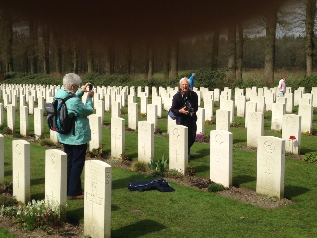 Military Cemetery in Arnhem, western Netherlands