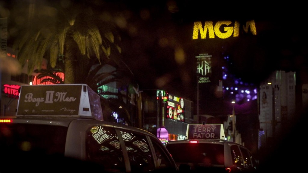 Las Vegas Street Nightime