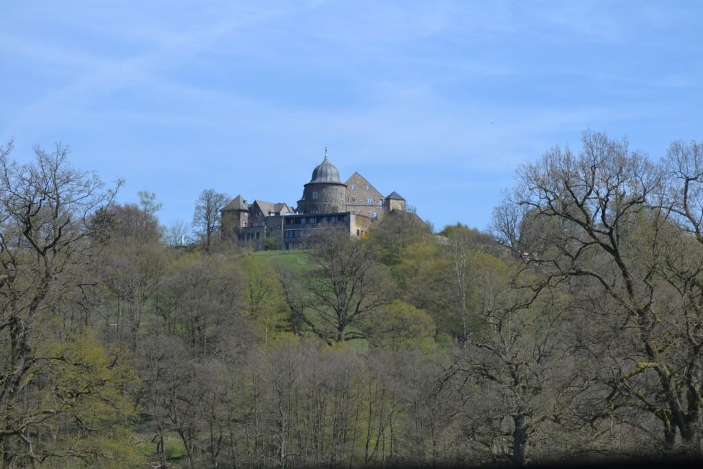 The castle ruins of Hanstein near Göttingen, dating from 1308