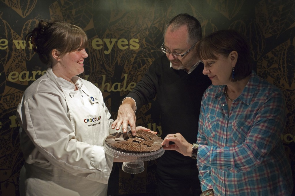 Tasting chocolates (York's CHOCOLATE Story)