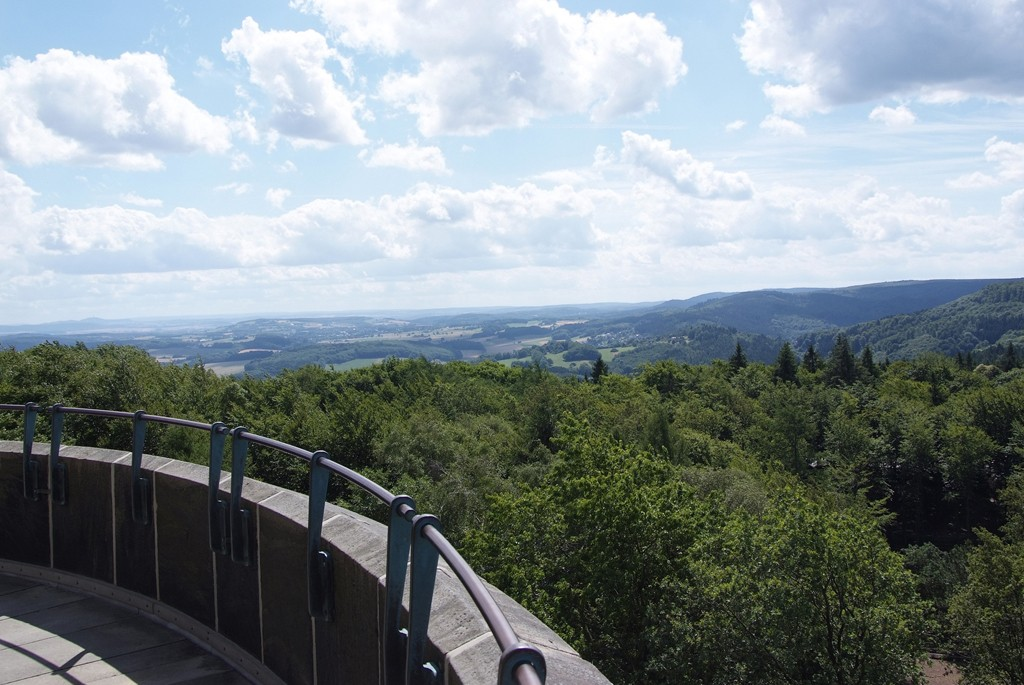 View of Teutoburg Forest