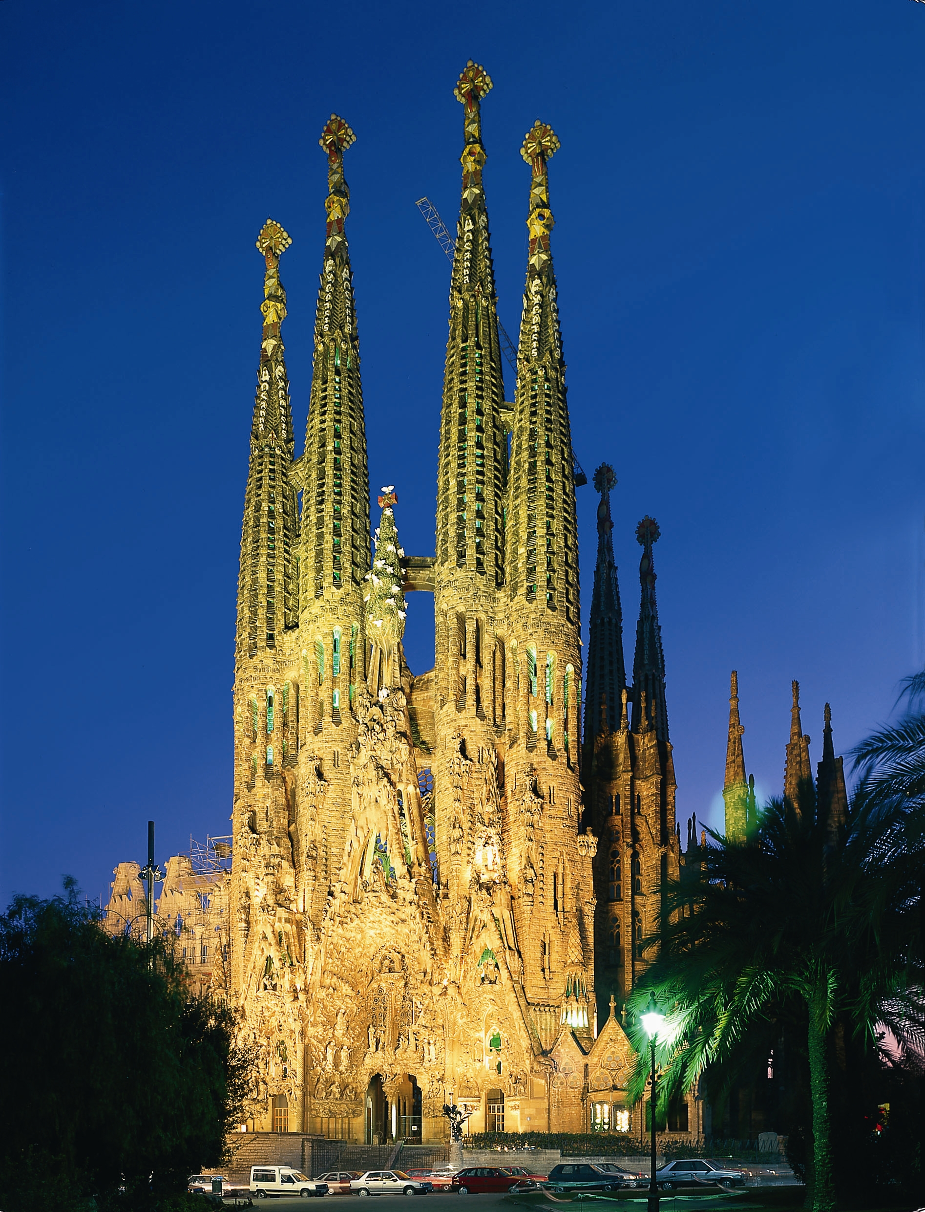 The simple life with a tour through spain and greece for La sagrada familia en barcelona