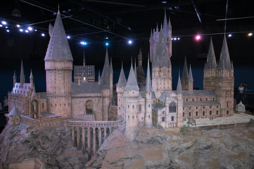 Amazing and gigantic model of the grounds of Hogwarts