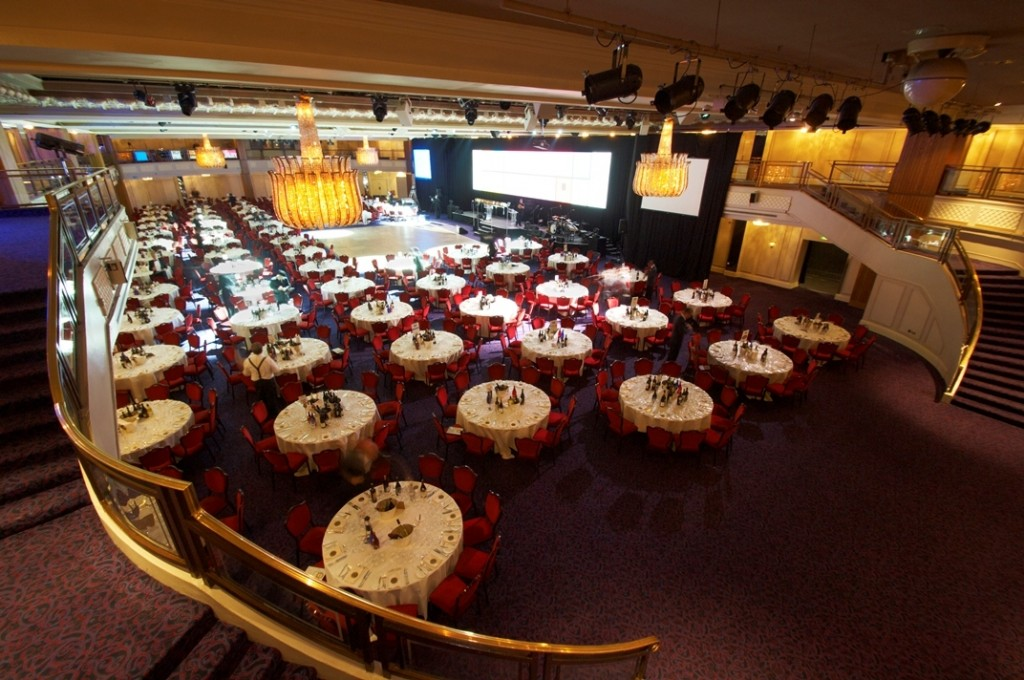 The Great Room, Europe's largest hotel banqueting hall