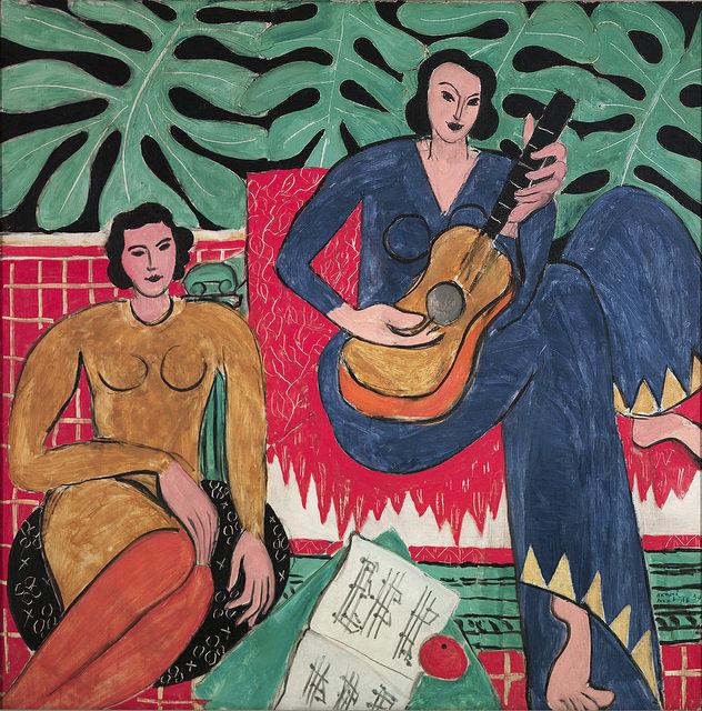 Henri Matisse (French, 1869-1954). La Musique, 1939.