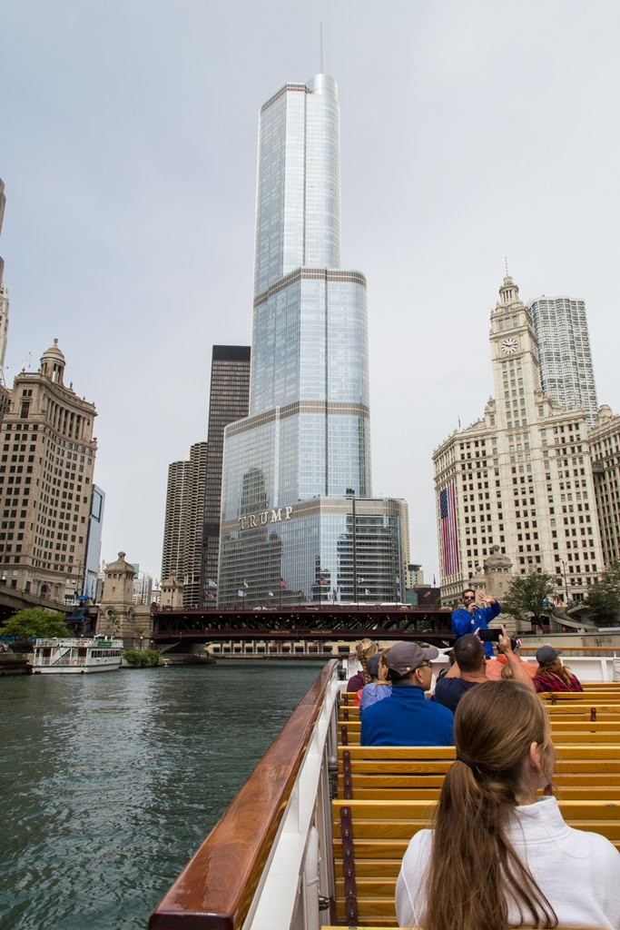 Approaching the Trump International Tower. Credit: Nicole Katzman