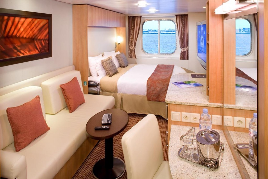 Ocean View Category 8 stateroom