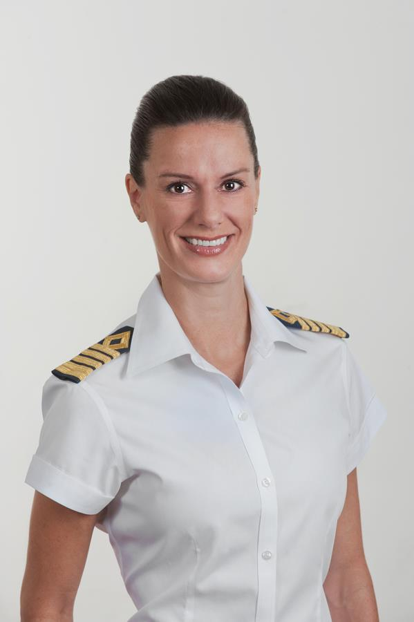 Captain Kate McCue of Celebrity Summit