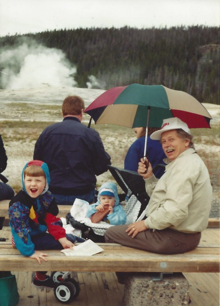Moostash Joe, John, Joey - Yellowstone Scouting trip