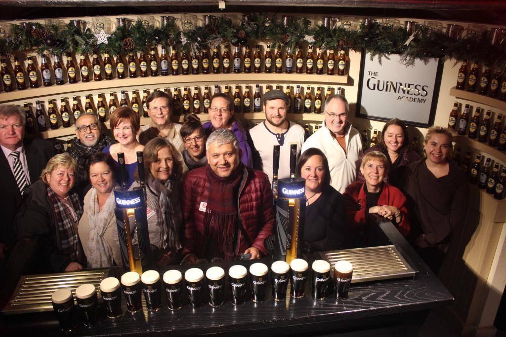 AAA Fam @ Guinness Storehouse. Dec 2014