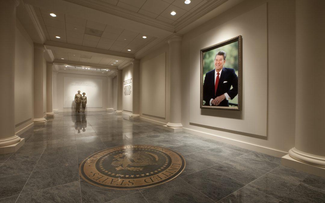 Ronald Reagan Library Entrance