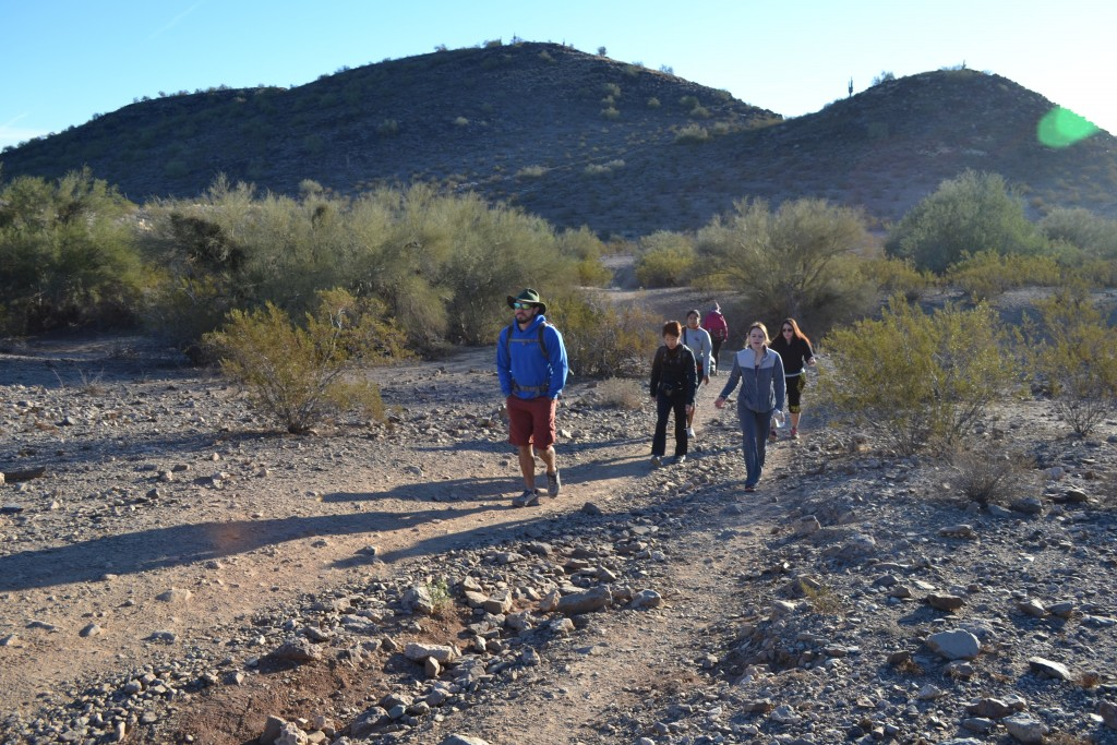 The Phoenix Mountains Preserve offers an in-city hiking experience in the Sonoran Desert by Don Heimburger