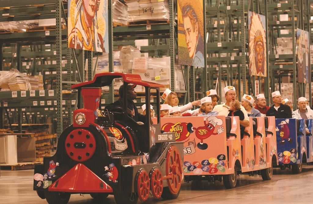 Jelly Belly Candy Company located in Pleasant Prairie, Wisconsin. Photographed on Thursday May 1, 2003. Photo by Ron Kuenstler