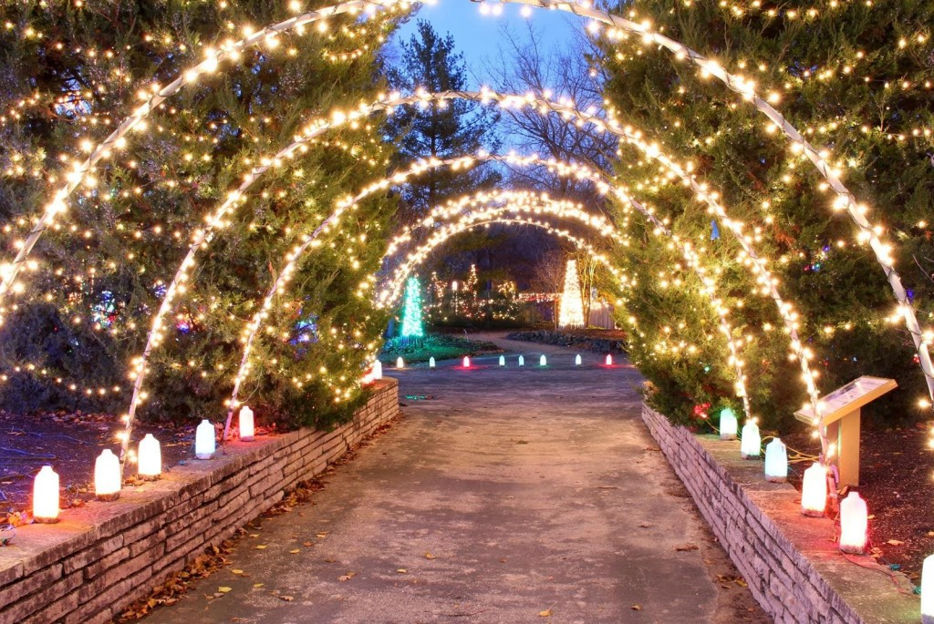 USE Rotary Botanical Garden day path