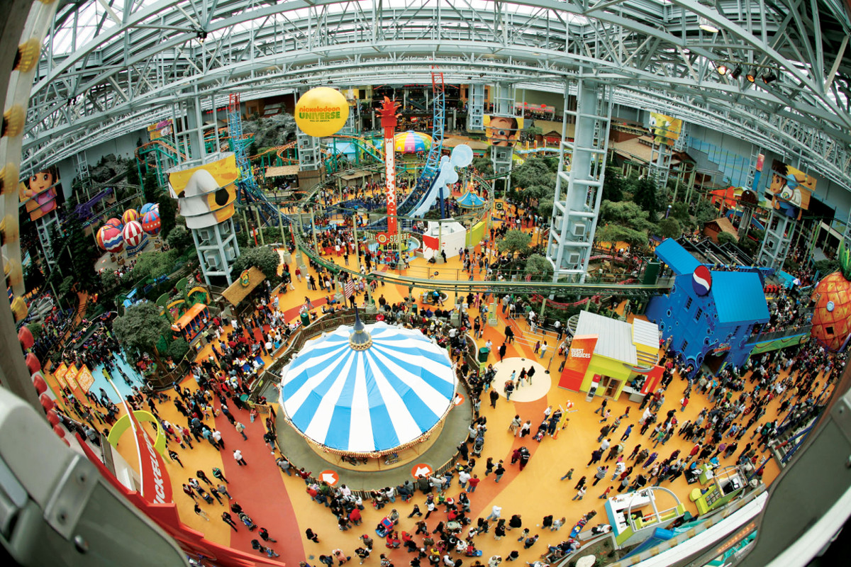 Mall of America a Magnet for Groups