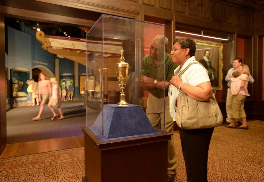 Jamestown exhibit